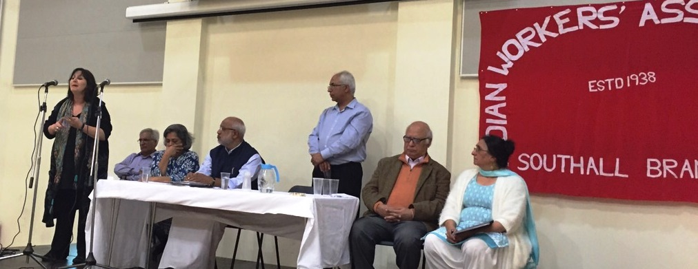 It was 'history in the making' in Southall for AIC (GB)'s Public Meeting.