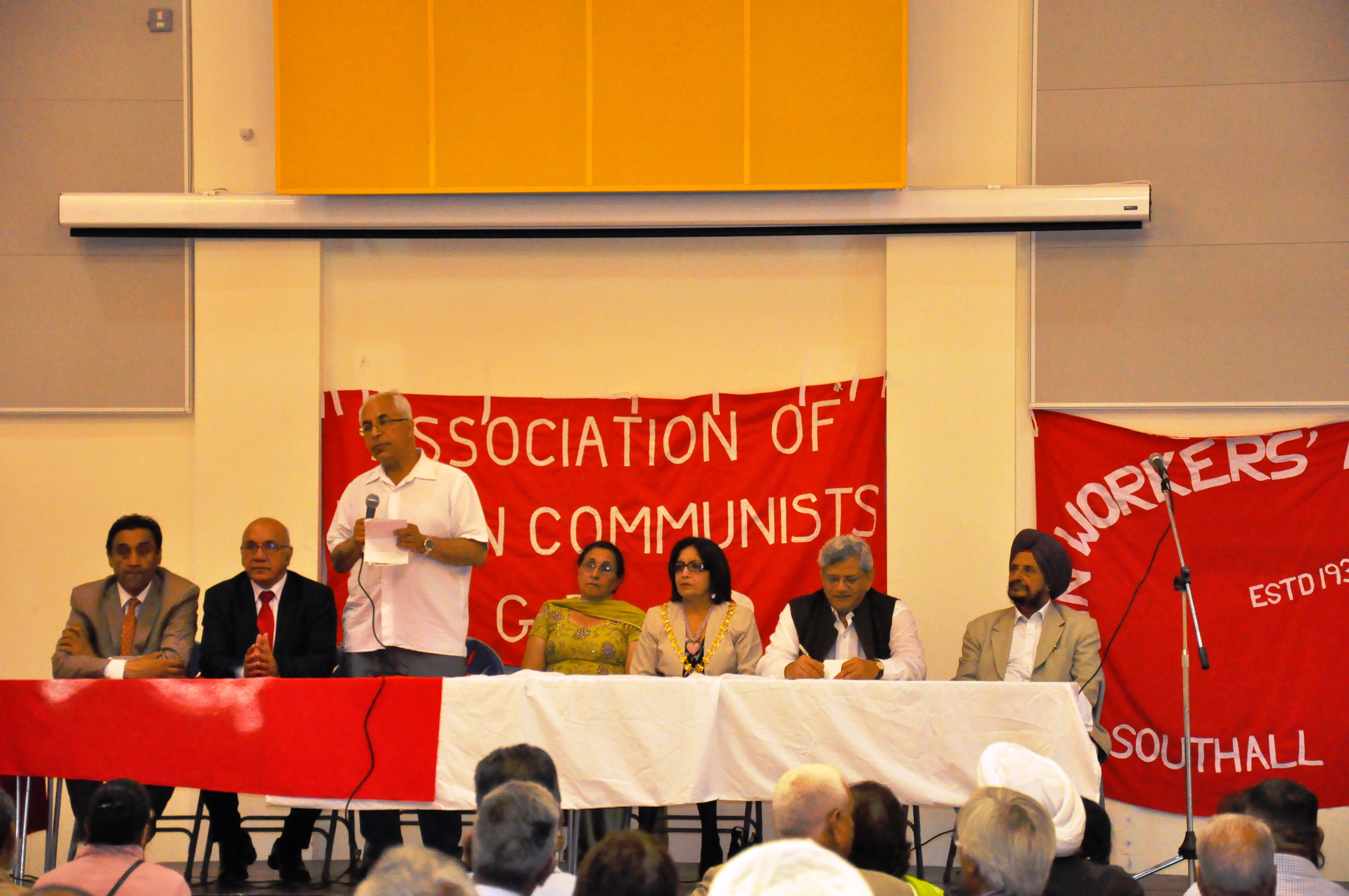 Left diaspora in UK welcomed Comrade Sitaram Yechury