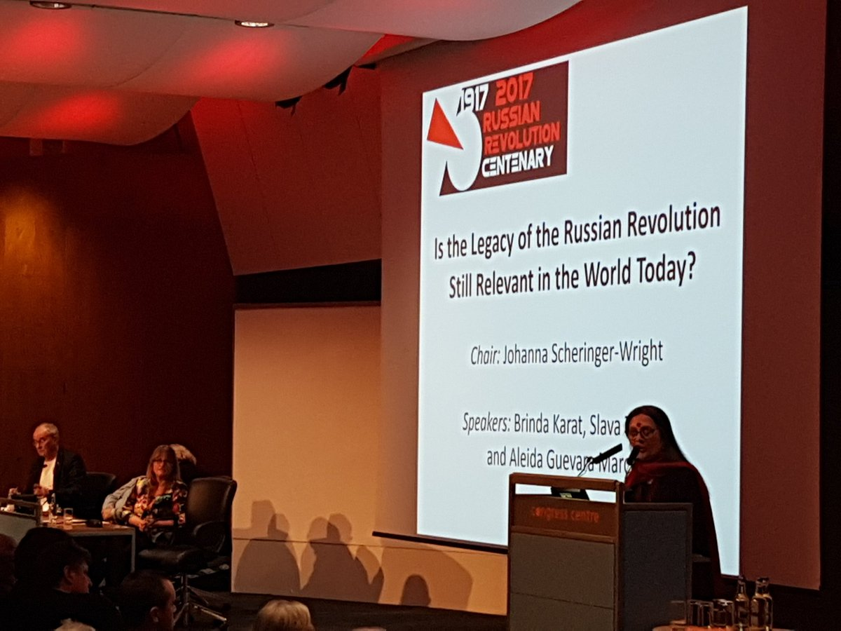 The Russian Revolution is still Relevant Today – Brinda Karat